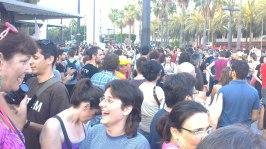 Manifestacion 15M Almeria